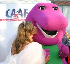 played barney dinosaur sweet gig 96 3 kklz