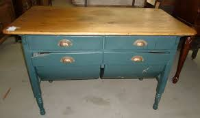 Antique Kitchen Cabinet With Flour Bin Antique Old Finish Possum Belly Baker Table Cabinet Ebay