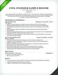 Resume Format For Experienced Software Tester Software Experience Resume Sample Civil Engineer Resume Sample