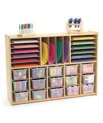 31 cubby multi section storage unit zulily elementary remodel