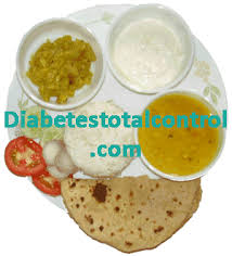 north indian diabetic diet diabetes total control