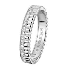 the story wedding band quatre radiant edition wedding band a maison boucheron jewelry