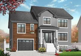 Transitional Style House House Plan W3459 Detail From Drummondhouseplans Com