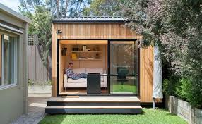 Prefabricated Tiny Homes by Green Roof Ready Backyard Room Pops Up In Six Short Weeks
