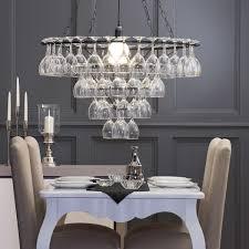 Dining Room Light Fittings 5 Beautiful Wine Glass Light Fittings Vinspire