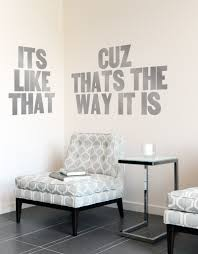 its like that cuz thats the way it is wall decal blik its like that cuz thats the way it is