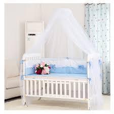 baldacchino per lettino foxnovo baldacchino zanzariera a tenda per letto per bambino il