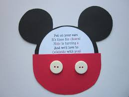 mickey mouse invitations for maggie pinterest mickey mouse