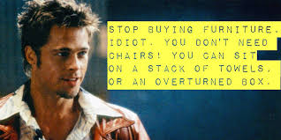 Fight Club Memes - this fight club meme is strong