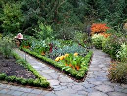 raised bed garden design with flowers backyard landscaping ideas