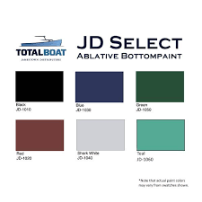 totalboat jd select water based ablative bottom paint