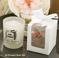 wedding favors candles personalized frosted candle holders heart theme wedding favors