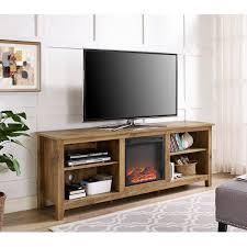 walker edison furniture company barnwood 70 in wood media tv