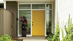 yellow front door what does your front door color say about you southern living