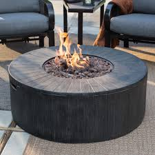 round propane fire pit table red ember whitehall 40 in gas fire pit hayneedle