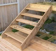 attaching stairs to a deck methods and tips