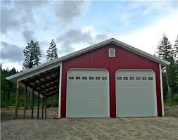 30x40x14 shop with lean to 5576 shop ideas pinterest barn