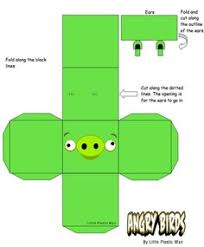 printable angry birds templates angry birds papercraft templates