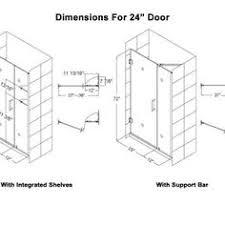 Standard Shower Door Sizes Standard Height Of Frameless Shower Door Http Capoeirauniao
