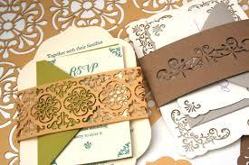 laser cut wood invitations custom letterpress laser cut and wood engraved wedding