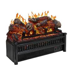 23 in electric log set with heater lh 24 the home depot