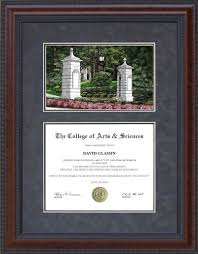 14x17 diploma frame diploma frame with licensed emory cus