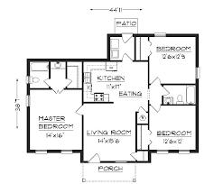 floor plans with measurements floor plan with measurements simple house plans