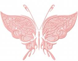 fantastic butterfly snake skin free embroidery design