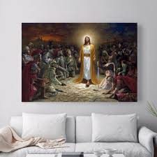 Canvas Home Store by Jesus World Revival Last Supper Canvas Painting U2013 In God U0027s