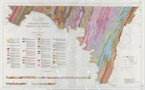 Washington County Map by Geologic Map Of Washington County