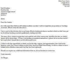 maternity resignation letter 2 d46 org the sample teacher