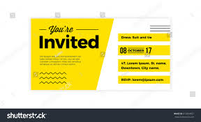 you invited design voucher template weddings stock vector
