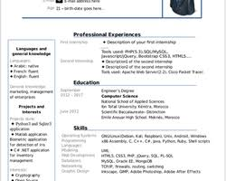 Resume Template Libreoffice Resume Curriculum Vitae Cv 1 0 Libreoffice Extensions And