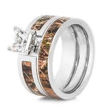 Camo Wedding Rings by Hunting Jewelry Realtree U0026 More Titanium Buzz