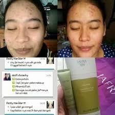 Serum Wajah Jafra testimoni pemakaian mud mask jafra jafra zone