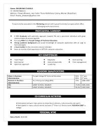 Sample Resume Language by Bhawana Resume