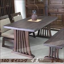 M S Dining Tables Ms 1 Rakuten Global Market Dining Table Set Bench Type 4