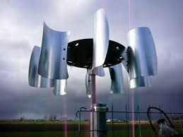 Backyard Wind Power Helical Vawt Blades And Charge Controller Windmill Solar And