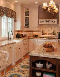 french country white oak interiors