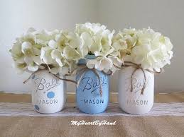 jar baby shower centerpieces boy baby shower decorations blue baby shower centerpieces