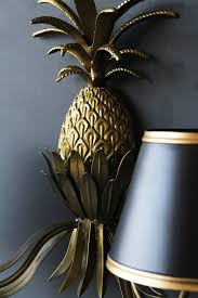 Pineapple Wall Sconce Gold Pineapple Wall Light From Rockett St George