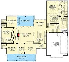 modern farmhouse plan with bonus room 51754hz architectural