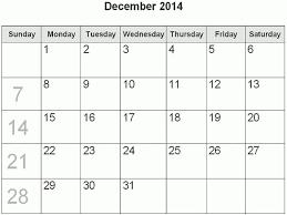 free printable weekly calendar december 2014 blank december 2014 calendar template with blank calendar pages