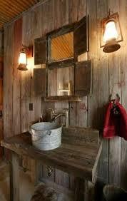 Rustic Bathroom Sconces - 51 insanely beautiful rustic barn bathrooms bathroom interior
