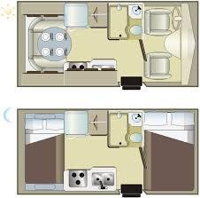 Conversion Van Floor Plans Rentals C Small Motorhome Fraserway Rv