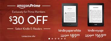 amazon black friday presales amazon offering discounts on kindle paperwhite and voyage for