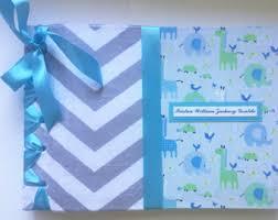 Personalized Scrapbook Albums Baby Scrapbook Album Personalized Baby Book Keepsake Memory