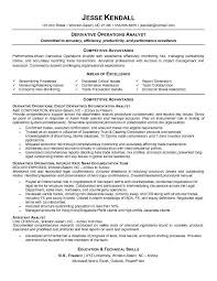 7 financial analyst cv example statement form in resume examples