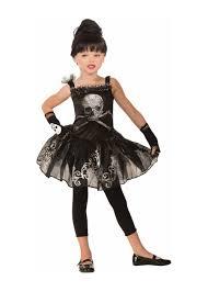 scary girl costumes skull ballerina girl costume scary costumes