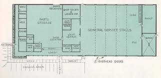 Auto Dealer Floor Plan 6066 Gmc Trucks Museum